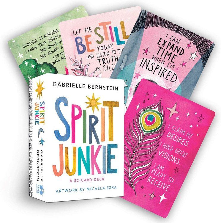 Spirit Junkie, oracle cards   Gabrielle Bernstein