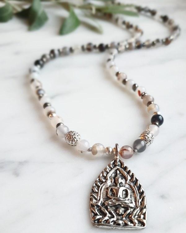 Buddha amulett & agat