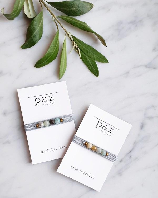Wish bracelet, Amazonit