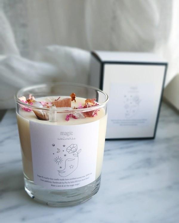Kristalljus med doft av Bergamott, Cedarwood & Pepparmint