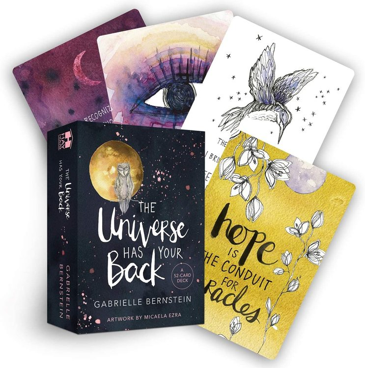 The universe has your back, oracle cards
