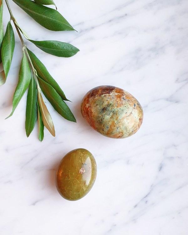 Grön Opal, palmstone
