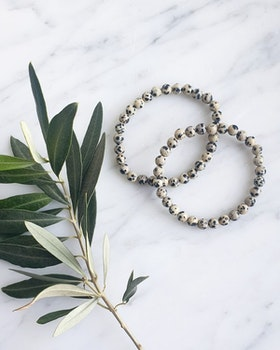 Armband, Dalmatinerjaspis