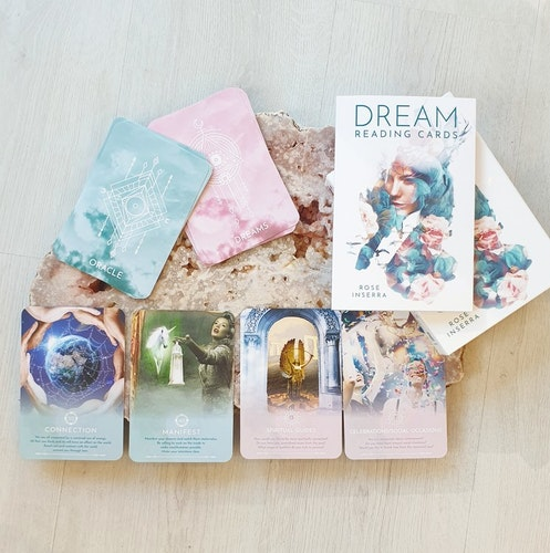 Dream reading cards, Rose Inserra