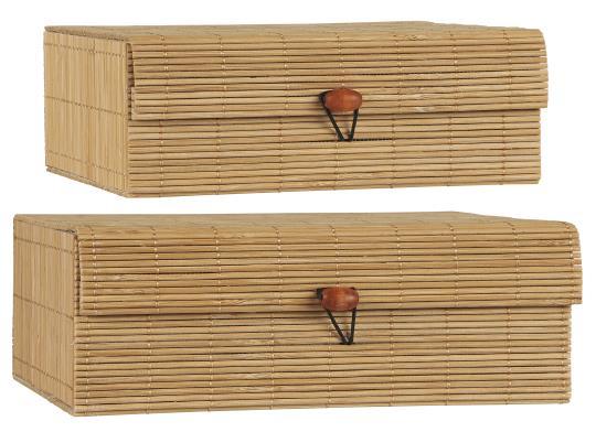 Förvaringslåda i bambu