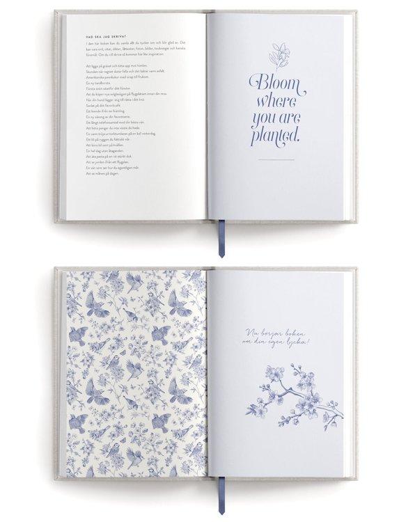 Min egen lyckobok, En fylla-i-bok för att samla allt jag mår bra av, Sporrong Sanna