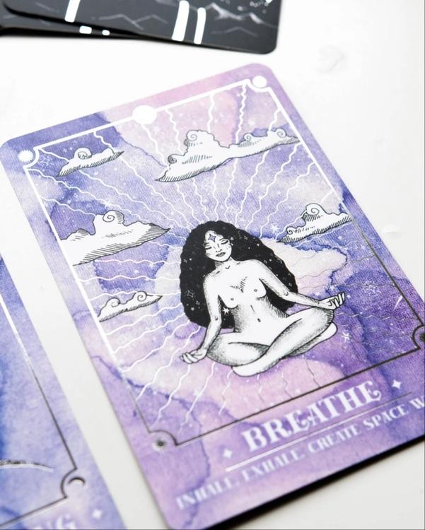 Cosmic guidance, oracle cards, Annie Tasanova
