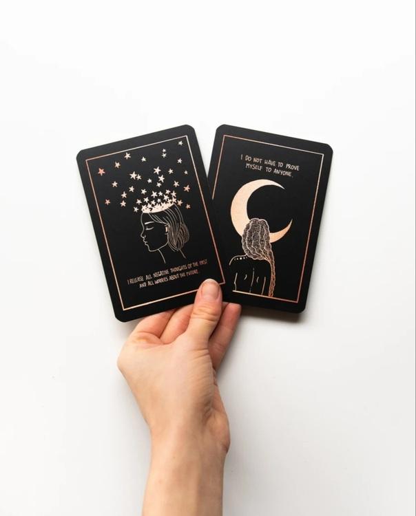 Affirmation cards, Annie Tasanova