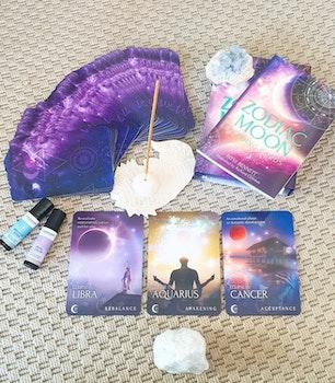 Zodiac Moon Reading Cards