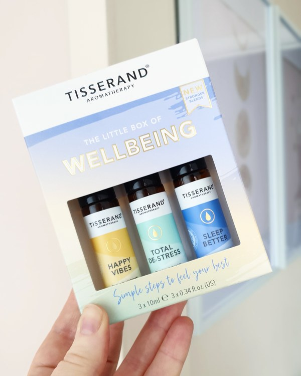 The little box of wellbeing, 3x pulse point roller ball