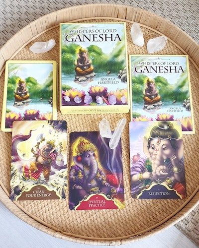 Whispers of lord Ganesha  cards, Angela Heartfield