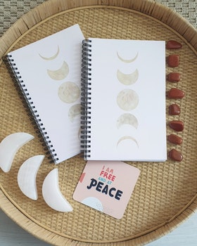 Moonphases notebook A5