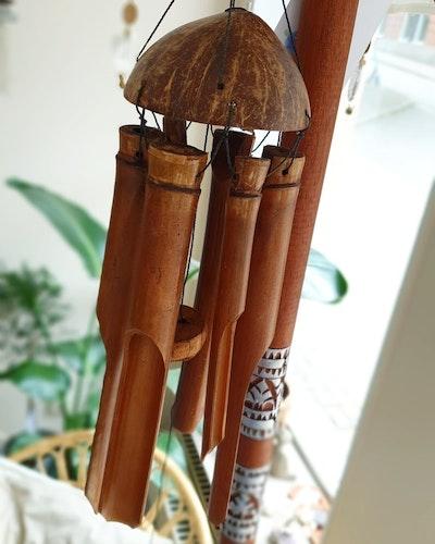 Vindspel, trä 30cm