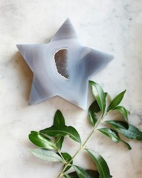 Stjärna agat med druse, 332gram nr 3
