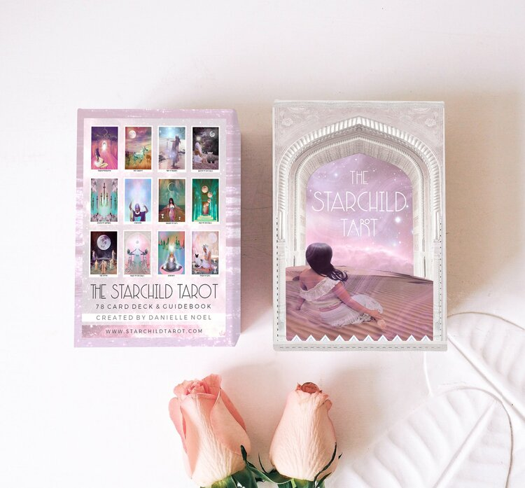 The Starchild Tarot - 1st Edition - ROSE PORTAL BOX