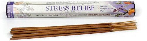 Stress Relief incense, Stamford