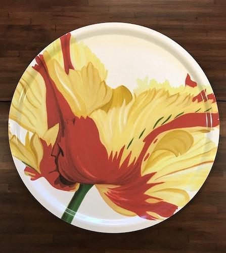 Rundbricka Röd Fransktulpan 65cm