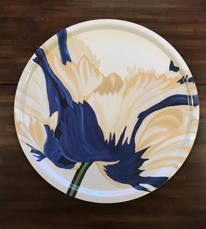 Rundbricka Blå Fransktulpan 65cm