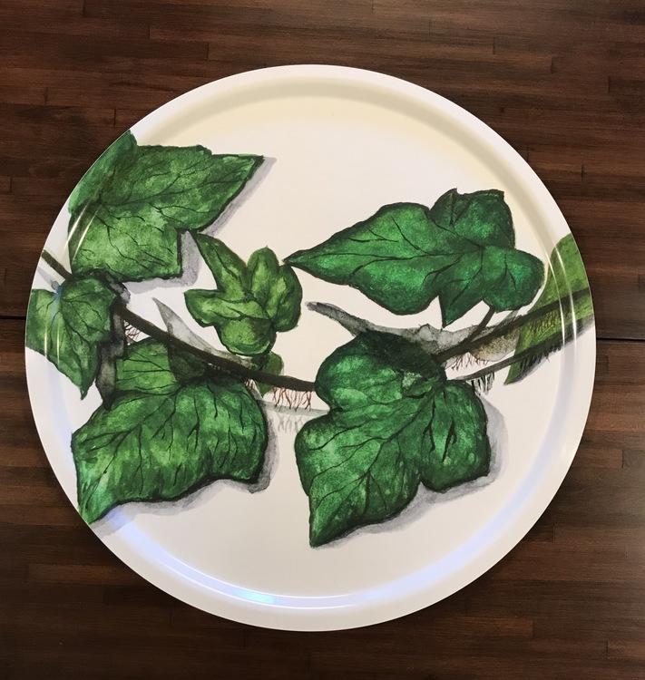 Serveringsbricka murgröna 49cm