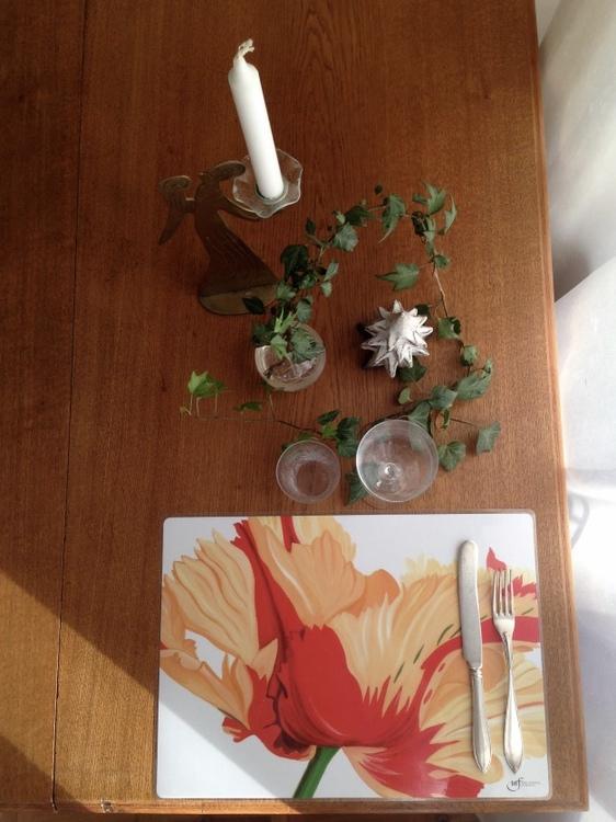 Fransktulpan bordstablett