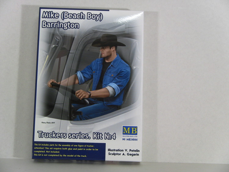 MB24044 Truckers series.Mike Barringto in 1:24 Master Box Ltd Beach Boy