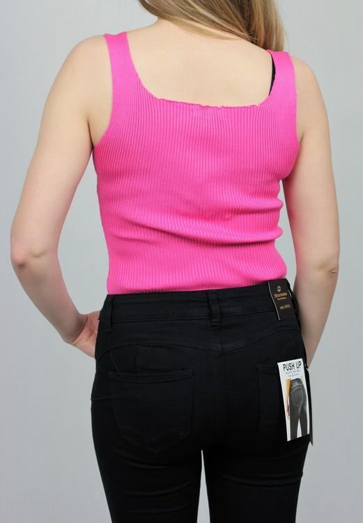 Drole de copine Rib Body Pink