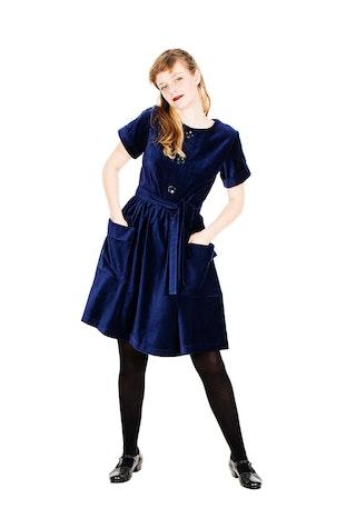 Majken Blue Velvet