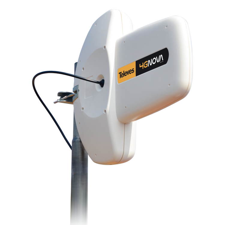 4G NOVA utomhusantenn för 4G / 3G / 2G SMA-kontakt