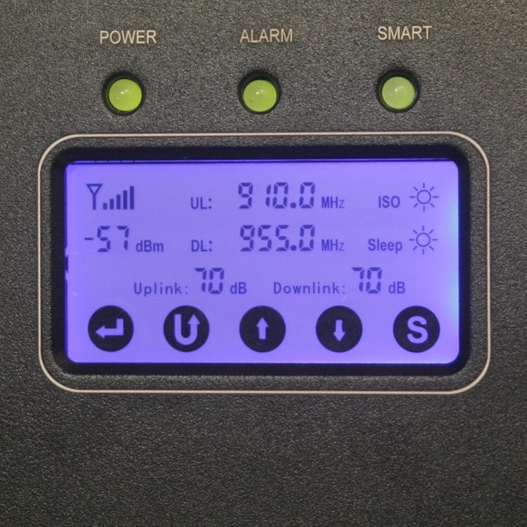 SYN -E23L-S 900 MHz repeater, +23dBm upp till 4000m3 10MHz bandbredd för Telia