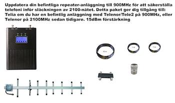 Plus en operatör, för Telia 900Mhz 15dBm paket