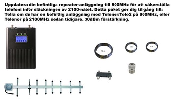 Plus en operatör, för Telia 900Mhz 30dBm paket