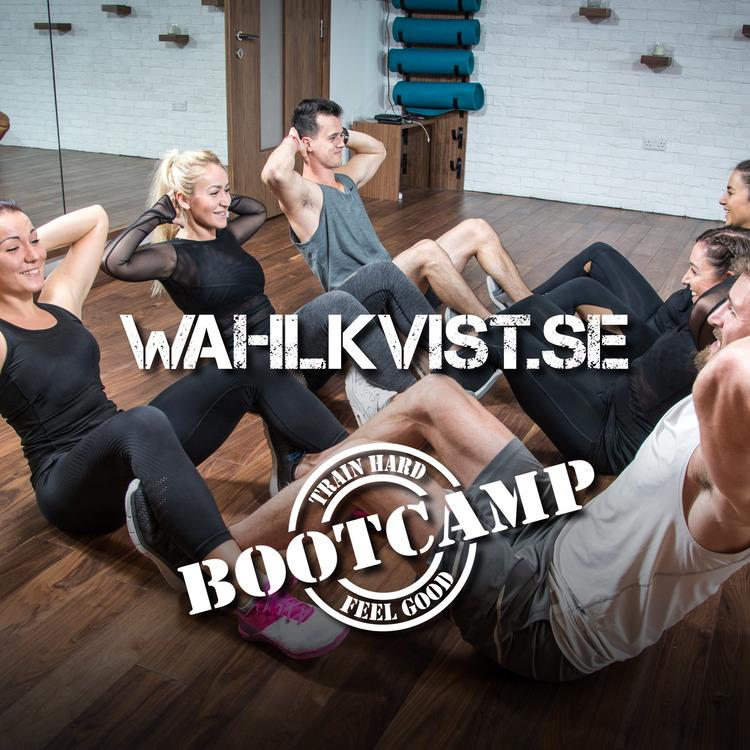 Indoor bootcamp vanlig grupp