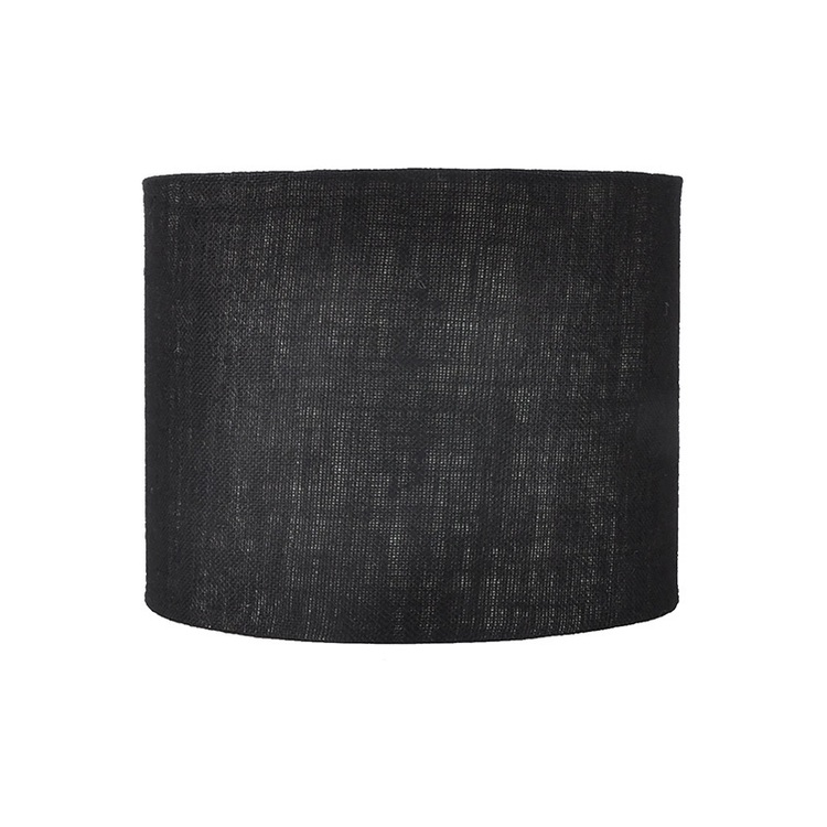 Lampskärm svart L