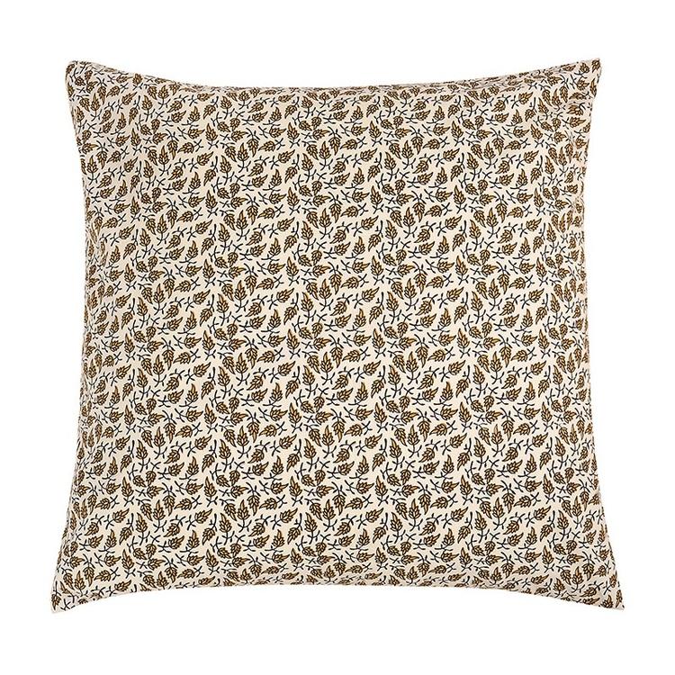 Kuddfodral Henley i 100% bomull och tryckt mönster