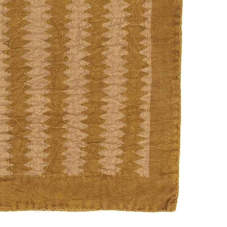 Filt/Pläd Jordyn i mönstrad bomull
