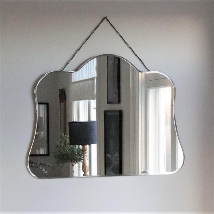Spegel Lola med fasade kanter