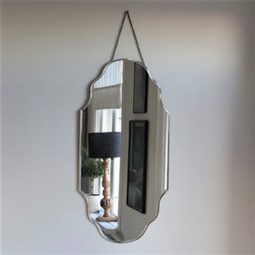 Spegel Bevellini L med fasade kanter
