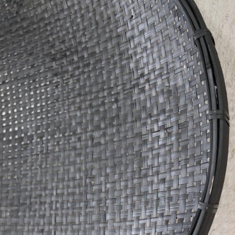 Väggdekor Murph i svart rotting, 45-60 cm