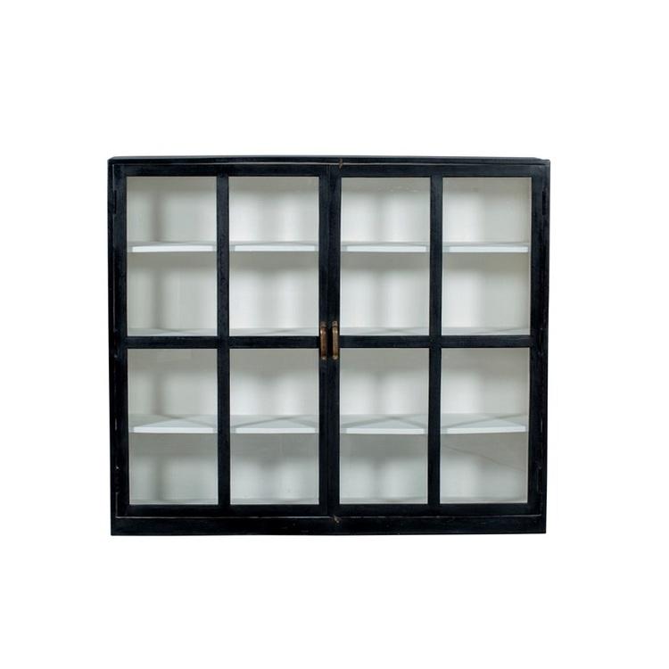 Sideboard  Sander, svart