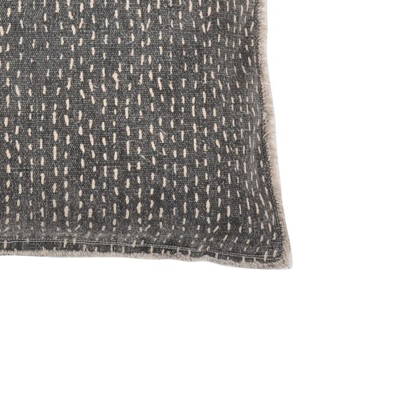 Kuddfodral Ferris mörkt grå 100% bomull