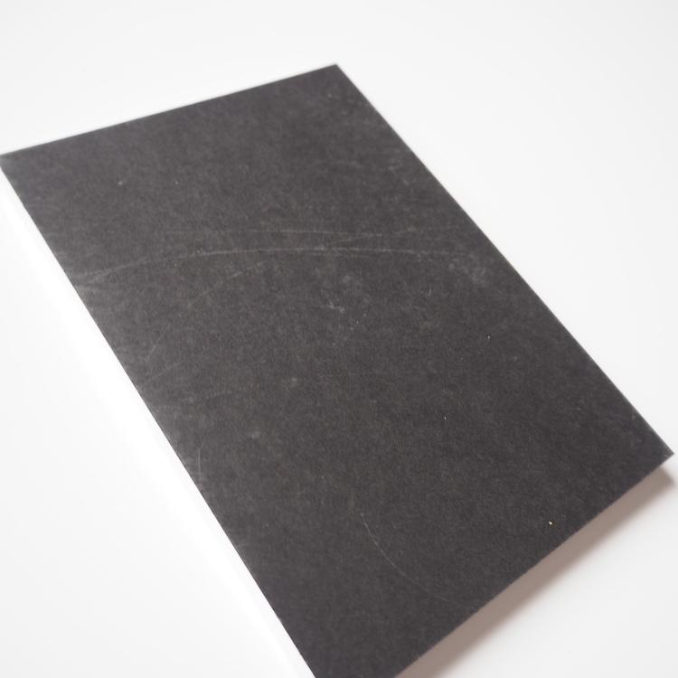 Marmorerat anteckningsblock, 2a handssortering