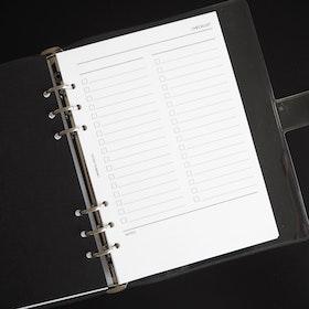 """""""Checklist"""" inlagor till agenda A5"""