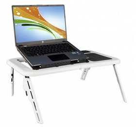 Laptopbord med fläkt