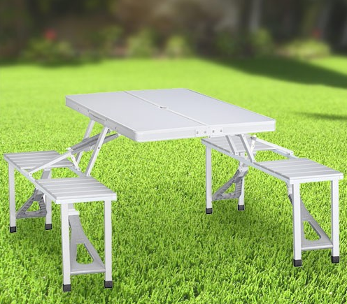 Hopfällbart picknick bord