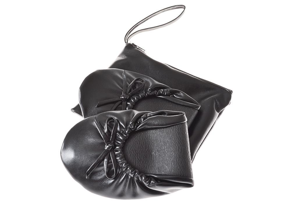 Ihopvikbara ballerinaskor med väska