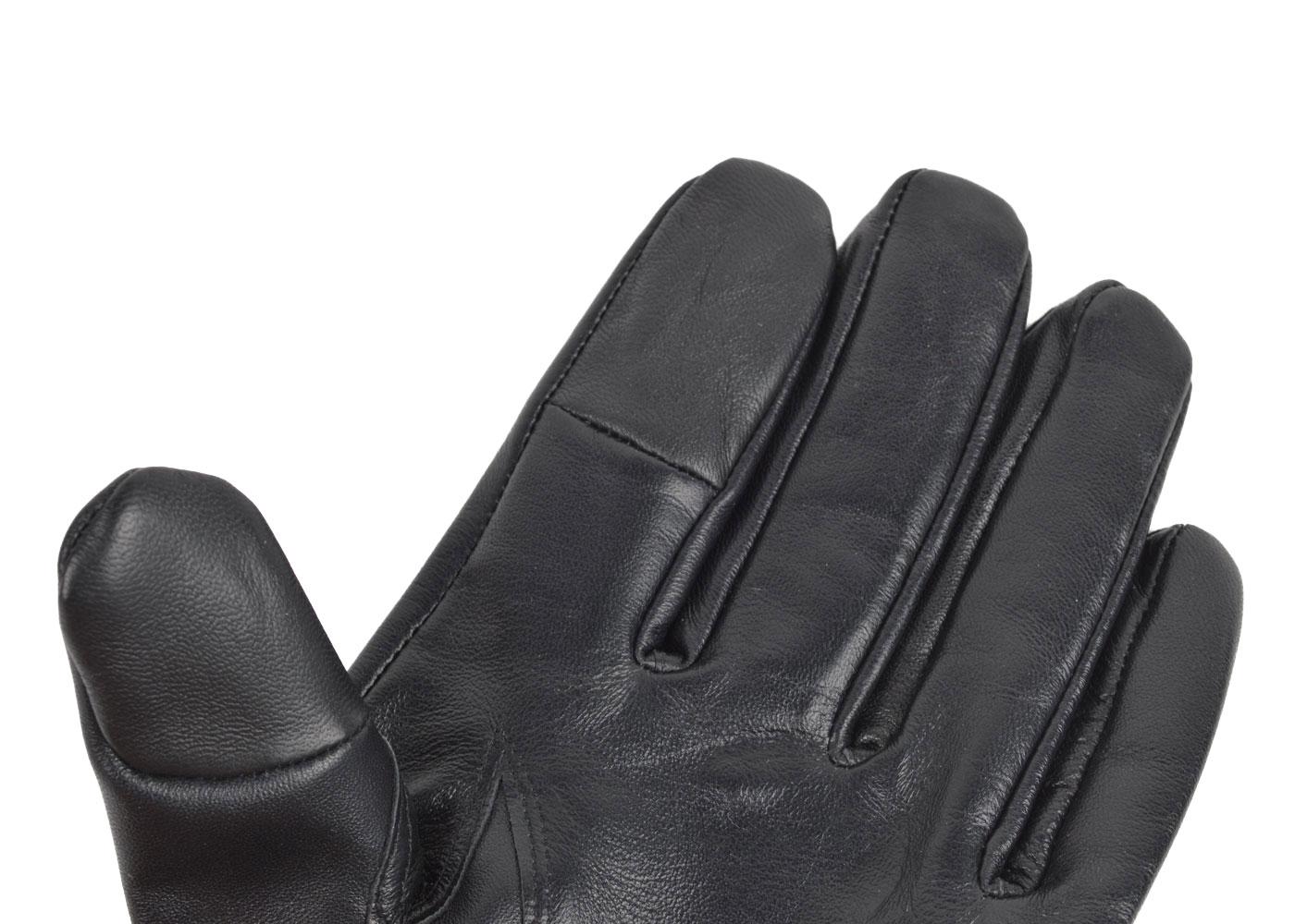 Touchscreen handskar i skinn dam & herr