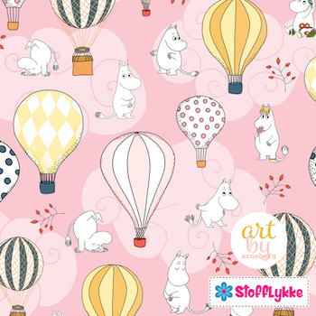 Air Ballon Baby Pink French Terry
