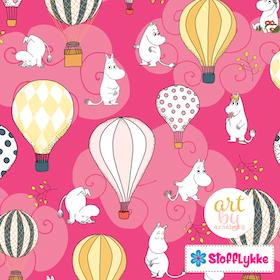 Air Ballon Candy Pink Woven Cotton