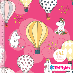 Air Ballon Candy Pink Woven Cotton