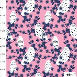 Snowy Owl Jersey Light Pink - Blueberry
